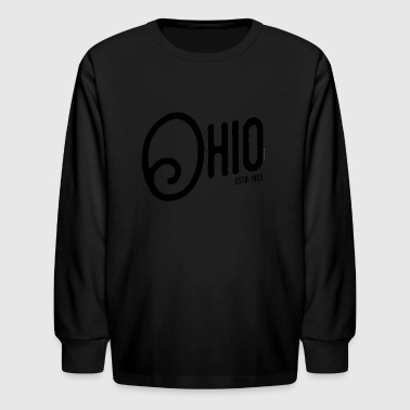 Ohio Script - Kids' Long Sleeve T-Shirt