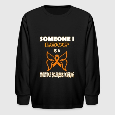 Multiple Sclerosis Awareness - Kids' Long Sleeve T-Shirt
