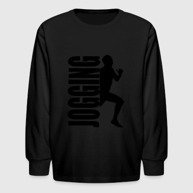 jogging - Kids' Long Sleeve T-Shirt