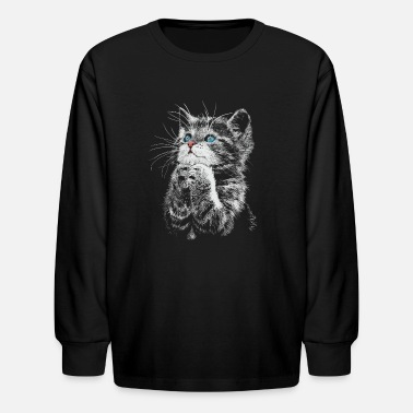 Gatto Cat - Kids' Long Sleeve T-Shirt
