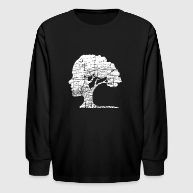 Psychology Tree Wisdom - Kids' Long Sleeve T-Shirt