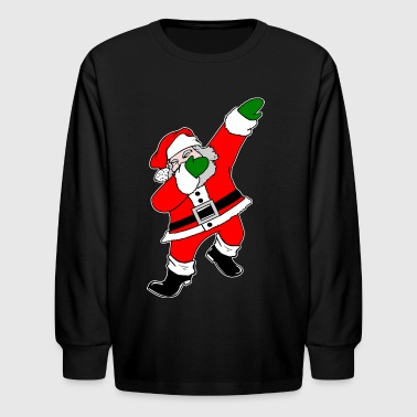 Dab Santa Claus - Kids' Long Sleeve T-Shirt