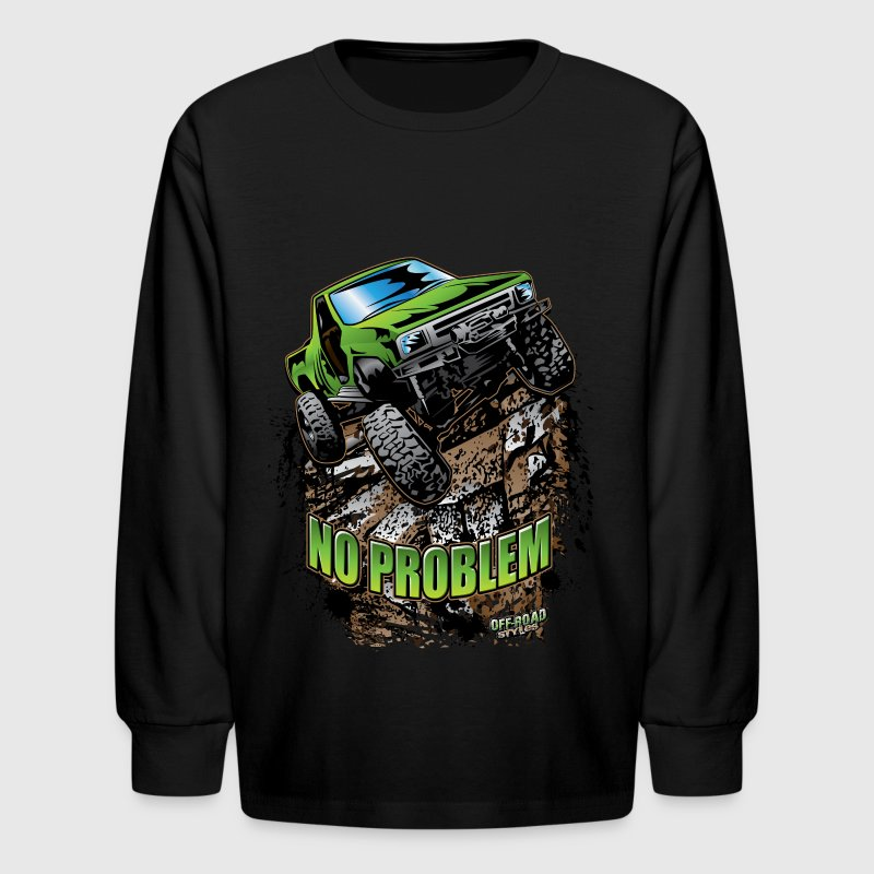 Toyota Rock Crawler Green - Kids' Long Sleeve T-Shirt