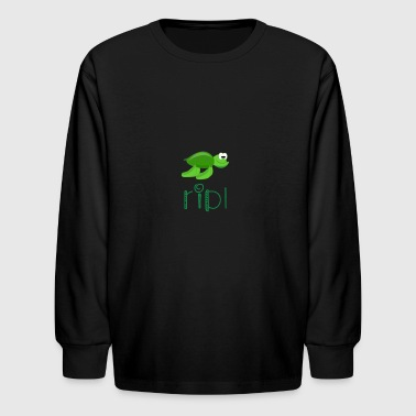 Squirt Turtle squirt - Kids' Long Sleeve T-Shirt