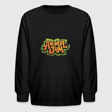 national geographic animal jam smart bomb logo - Kids' Long Sleeve T-Shirt