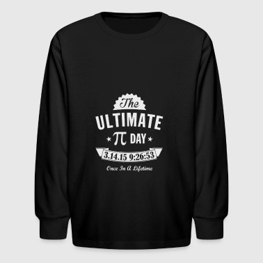 Ultimate Pi Day - Kids' Long Sleeve T-Shirt