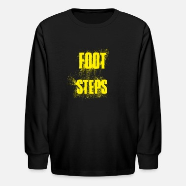 Foot Steps - Kids' Longsleeve Shirt