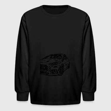Focus Rs focus 3 rs - Kids' Long Sleeve T-Shirt