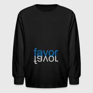 favor 07 - Kids' Long Sleeve T-Shirt