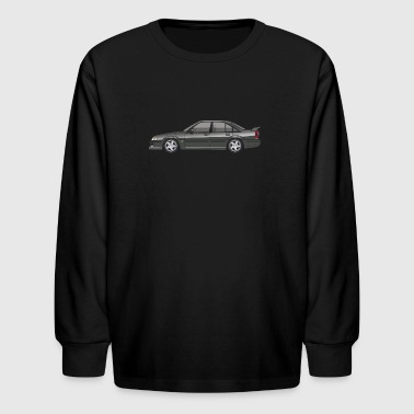 Lotus Cars Opel Lotus Omega / Vauxhall Lotus Carlton Type 104 - Kids' Long Sleeve T-Shirt