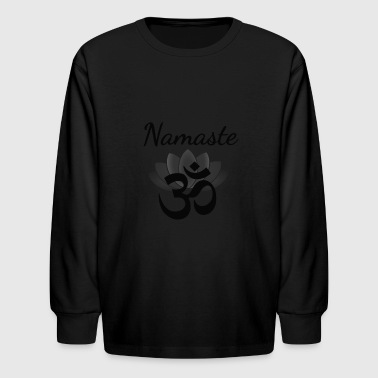 Namaste  - Kids' Long Sleeve T-Shirt