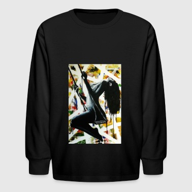 The Swing - Kids' Long Sleeve T-Shirt