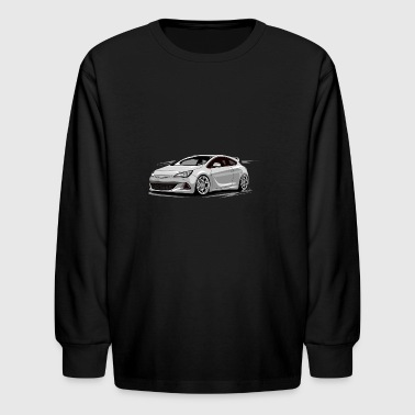 astra j opc - Kids' Long Sleeve T-Shirt