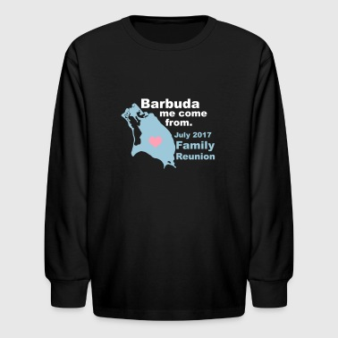 Barbuda Family Reunion - Kids' Long Sleeve T-Shirt