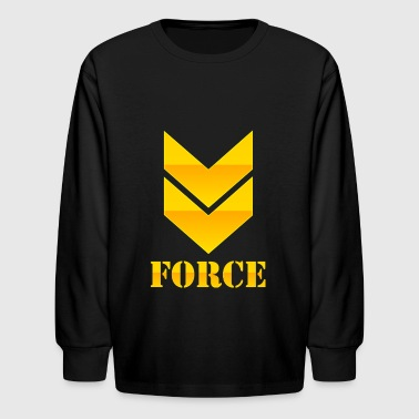 FORCE - Kids' Long Sleeve T-Shirt