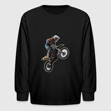 enduro - Kids' Long Sleeve T-Shirt