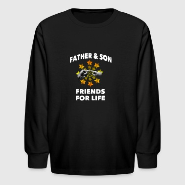 Father & son - Kids' Long Sleeve T-Shirt