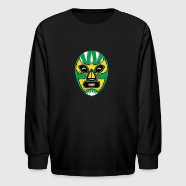 Mexican Wrestling Mask Mexican Wrestling T Shirt - Kids' Long Sleeve T-Shirt