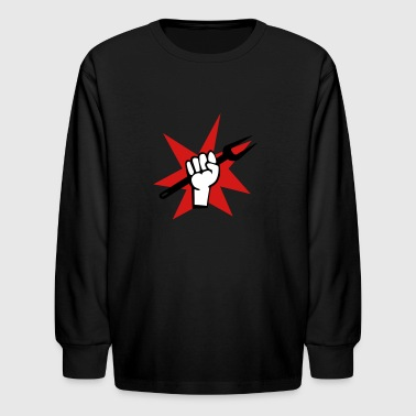 grill - Kids' Long Sleeve T-Shirt