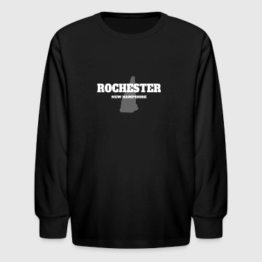 NEW HAMPSHIRE ROCHESTER US STATE EDITION - Kids' Long Sleeve T-Shirt
