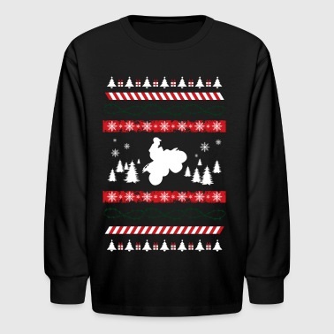 Ugly Christmas Sweater - Kids' Long Sleeve T-Shirt