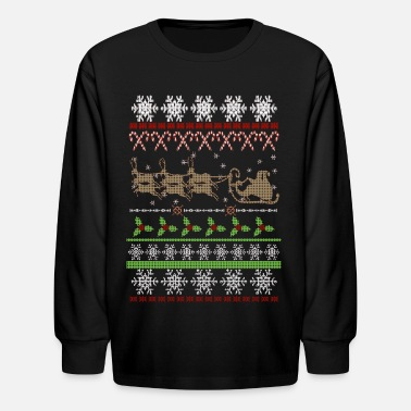 Christmas Ugly Christmas Sweater Inspired - Kids' Longsleeve Shirt