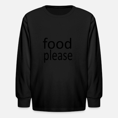 Please please - Kids' Longsleeve Shirt