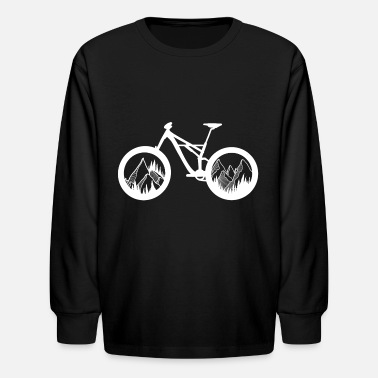 Mountain Bike Mountain Bike - Kids' Longsleeve Shirt