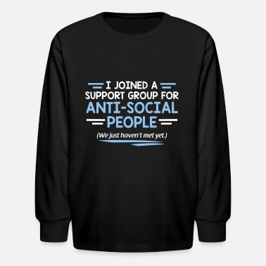 GROUP SOCIAL - Kids' Longsleeve Shirt