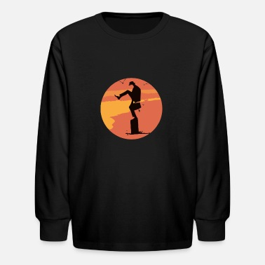 Silly Silly Karate - Kids' Longsleeve Shirt