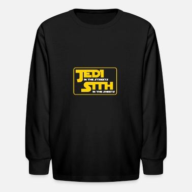Jedi Jedi and Sith - Kids' Long Sleeve T-Shirt
