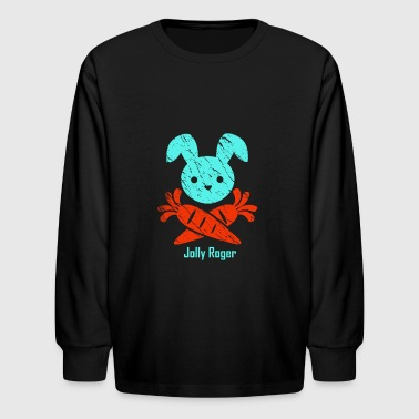 Jolly Roger - Kids' Long Sleeve T-Shirt