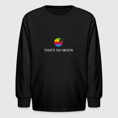 Solar System Rainbow Cyber System - Kids' Long Sleeve T-Shirt