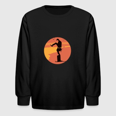 Silly Karate - Kids' Long Sleeve T-Shirt