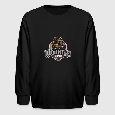 Wookiee Squad - Kids' Long Sleeve T-Shirt