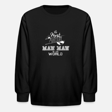 Maw Awesome Maw Maw Best Grandma - Kids' Longsleeve Shirt