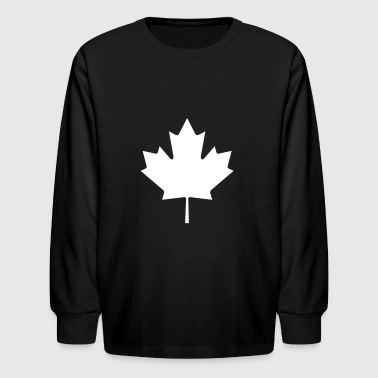 Canadian Maple Leaf - Kids' Long Sleeve T-Shirt