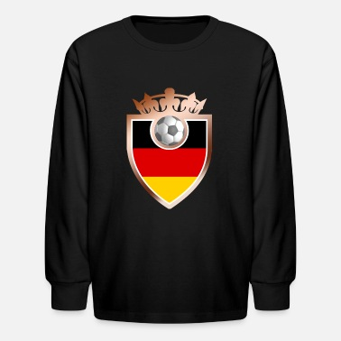 Foodball Germany Foodball Sign - Kids' Longsleeve Shirt