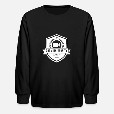 zoom university - Kids' Longsleeve Shirt