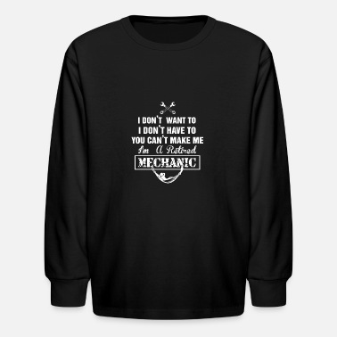 Mechanic MECHANIC TSHIRT - Kids' Longsleeve Shirt