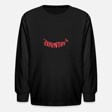 Countries Country - Kids' Longsleeve Shirt