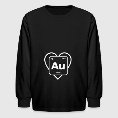 Shop nerds periodic table of elements words s t shirts online heart of gold periodic table element geek nerd kids39 long sleeve t urtaz Gallery