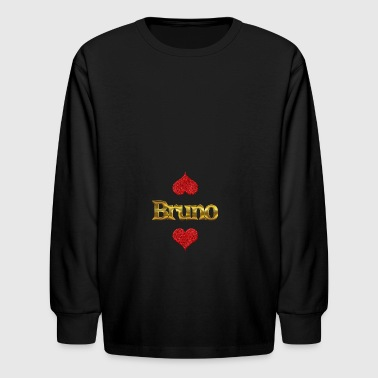 Bruno - Kids' Long Sleeve T-Shirt