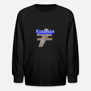 Cool Christian Forgiven. Cool Christian. - Kids' Longsleeve Shirt