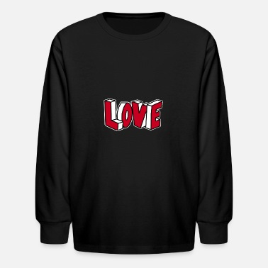 Hip Hop Graffiti Love Graffiti Hip Hop - Kids' Longsleeve Shirt