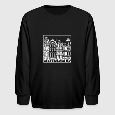 Brussels - Kids' Long Sleeve T-Shirt