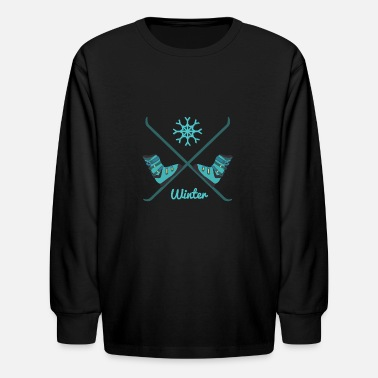 Sports Winter sports - Kids' Longsleeve Shirt