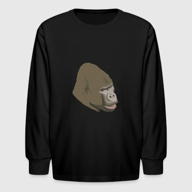 Gorilla - Kids' Long Sleeve T-Shirt
