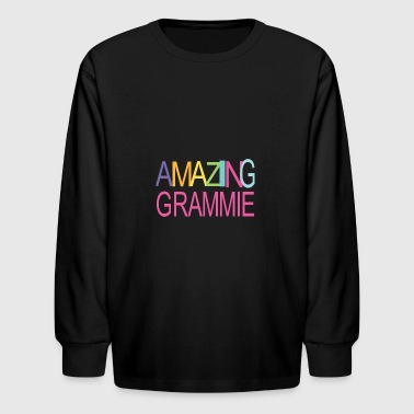 AMAZING GRAMMIE - Kids' Long Sleeve T-Shirt