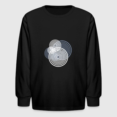 Swirl - Kids' Long Sleeve T-Shirt
